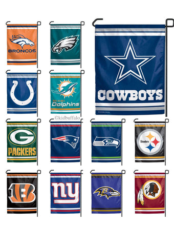 NFL Team Logo Wall Yard Garden Football Flag 11