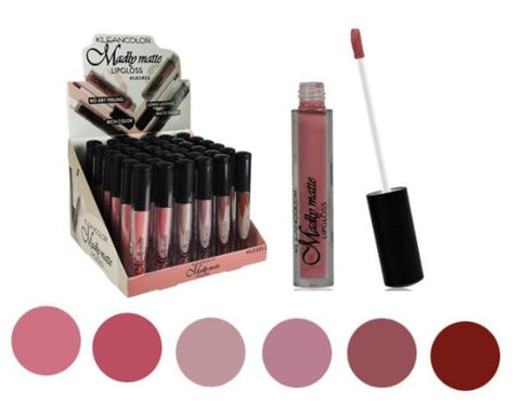 Lipstick Set of 6 Madly MATTE Lip Gloss Makeup Set #1 - Free Shipping