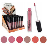 Lipstick Set of 6 Madly MATTE Lip Gloss Makeup Set #8 - Free Shipping