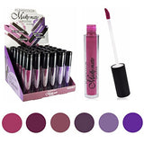 Lipstick Set of 6 Colors Madly MATTE Makeup Set #7 - Free Shipping