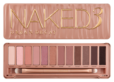 Urban Decay Naked3 Eyeshadow Palette Makeup Beauty Kit - Free Shipping