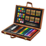 Art 101 Wood Art Children Painting Set 79-Piece - Black Friday Cyber Monday - Free Shipping