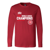 2016 World Series Champions Chicago Cubs MLB Cubs Long Sleeve Shirt - Free Shipping