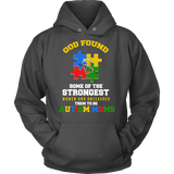 Autism Strong Moms Autism Awareness Hoodie - Free Shipping