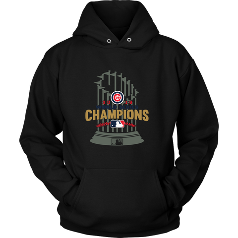 2016 World Series Champions Chicago Cubs MLB Cubs World Series Champions Game Hoodie - Free Shipping