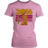 Cleveland Cavaliers 2016 NBA Champions - NBA Finals Trophy - District Womens Shirt - Free Shipping