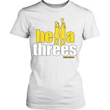 Golden State Warriors Hella Threes Splash Bros - District Womens Shirt - Free Shipping
