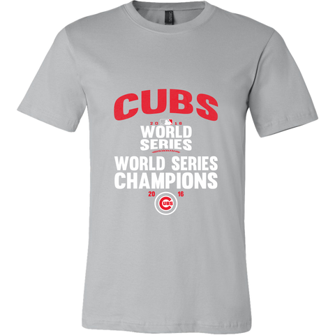 2016 World Series Champions Chicago Cubs MLB Cubs World Series Champions Men's Shirt - Free Shipping