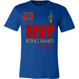 Cleveland Cavaliers 2016 NBA Champions - #23 Lebron James 2016 NBA Finals MVP - Canvas Mens Shirt - Free Shipping