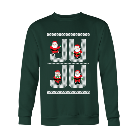 Ju Ju On That Beat White Santa Ugly Christmas Sweater Unisex