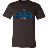 2016 NCAA Villanova Wildcats Division 1 Champions - Canvas Mens Shirt Double Sided- Free Shipping