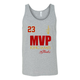 Cleveland Cavaliers 2016 NBA Champions - #23 Lebron James 2016 NBA Finals MVP - Canvas Unisex Tank - Free Shipping