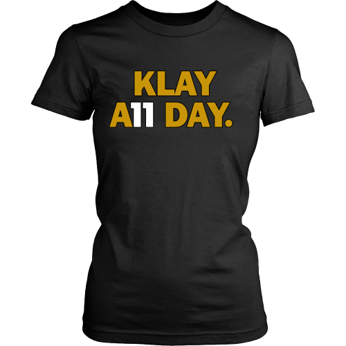 67d75b17e Klay Thompson Shirt - Golden State Warriors - Klay A11 Day - District –  eRummagers