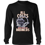Denver Broncos - All Colts Grow Up to Be Super Broncos - District Long Sleeve Shirt