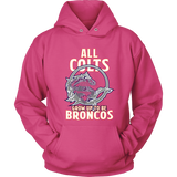 Denver Broncos - All Colts Grow Up to Be Super Broncos - Hoodie