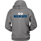 2016 NCAA Villanova Wildcats Division 1 Champions - Unisex Hoodie Double Sided- Free Shipping