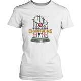 2016 World Series Champions Chicago Cubs MLB Cubs World Series Champions Game Women's Shirt - Free Shipping