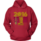 Cleveland Cavaliers 2016 NBA Champions - NBA Finals Trophy - Unisex Hoodie - Free Shipping