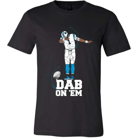 Carolina Panthers Cam Newton - Dab On Em - Canvas Mens Shirt
