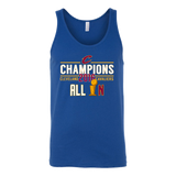 Cleveland Cavaliers All In With NBA Trophy 2016 NBA Champions - Canvas Unisex Tank - Free Shipping