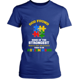Autism Strong Moms Autism Awareness District Womens Shirt - Free Shipping