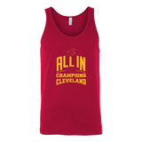 Cleveland Cavaliers ALL IN 2016 NBA Champions - Canvas Unisex Tank - Free Shipping