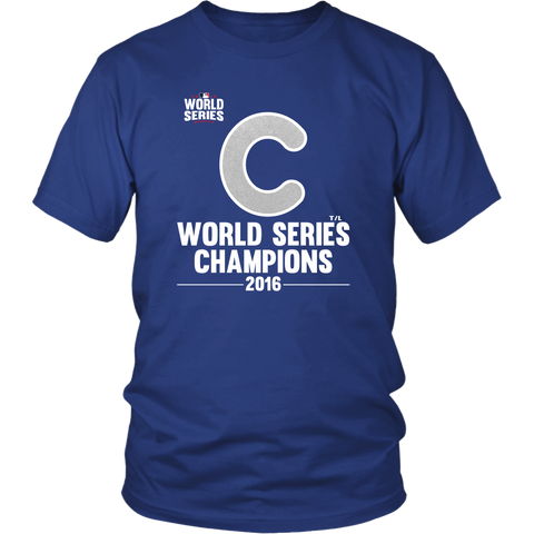 2016 World Series Champions Chicago Cubs MLB Unisex Shirt - Free Shipping