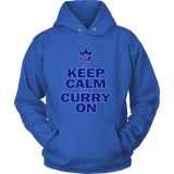 Golden State Warriors Keep Calm and Curry on - Steph Curry Unisex Hoodie - Free Shipping