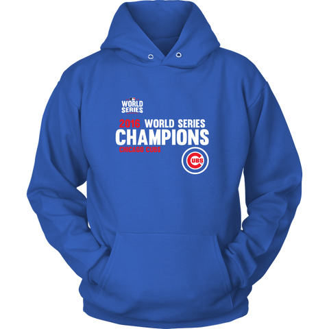 2016 World Series Champions Chicago Cubs MLB Cubs Hoodie - Free Shipping
