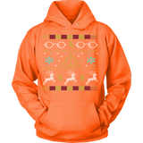 Harry Potter Glasses Ugly Christmas Sweater - Unisex Hoodie