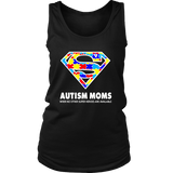 Autism Super Mom District Womens tank for Autism Awareness - Free Shipping