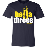 Golden State Warriors Hella Threes Splash Bros - Canvas Mens Shirt - Free Shipping