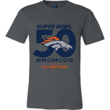 Denver Broncos SuperBowl 50 Championship Collection v3 - Canvas Mens Shirt - Free Shipping