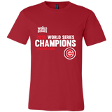 2016 World Series Champions Chicago Cubs MLB Cubs Mens Shirt - Free Shipping
