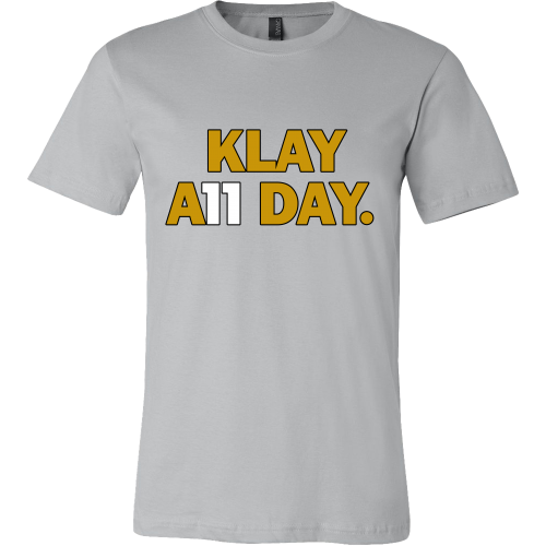2da15201c Klay Thompson Shirt - Golden State Warriors - Klay A11 Day - Canvas Me –  eRummagers