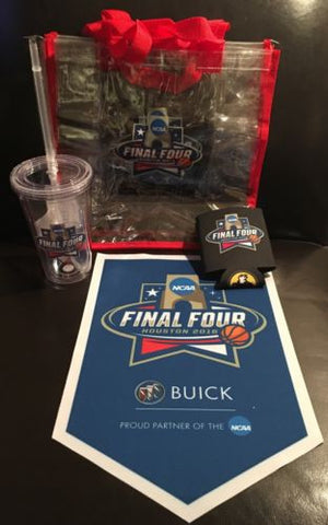 2016 NCAA Final Four Villanova Tar Heels Swag Package -- Free Shipping