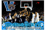 "2016 NCAA Villanova Wildcats National Champions 4x6"" Photograph - Free Shipping"