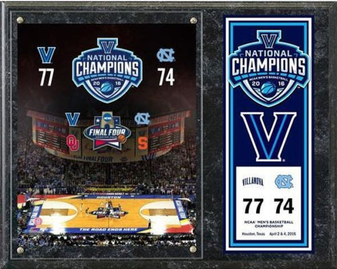 Villanova Wildcats 2016 NCAA Champions Final 12