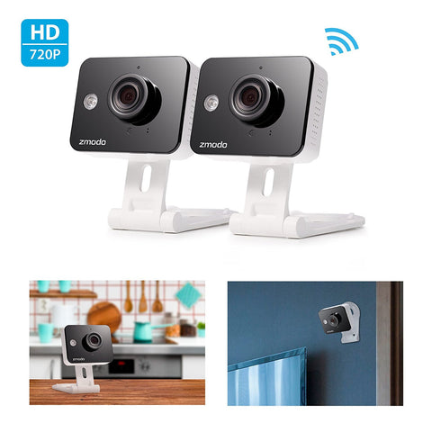 Zmodo Smart Security Camera Two-Way (1 or 2 Pk) - Black Friday Cyber Monday - Free Shipping