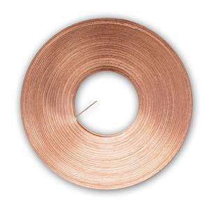 25 Ft Roll Copper Restrip Reinforcement for Stained Glass