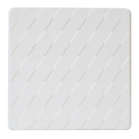 7 Inch Square Harlequin Texture Plate Mold for Glass Slumping
