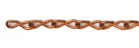 16 Gauge Jack Copper Chain - 10 Feet