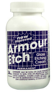 Armour Etch Glass Etching Cream-22 oz/Permanent