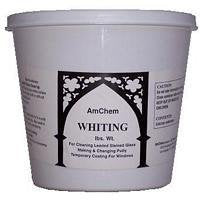 AmChem - 5 Lbs Pounds Whiting - Lead Came Stained Glass Supplies