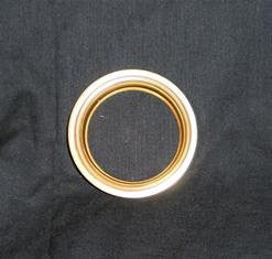 1 3/4 Inch Brass Fitter Ring (inside dimension) - Lamp Supplies