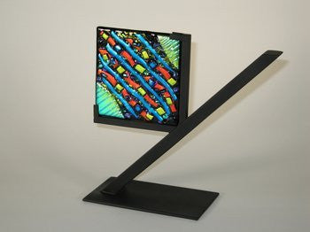 One Clarity Art Glass Display Stand
