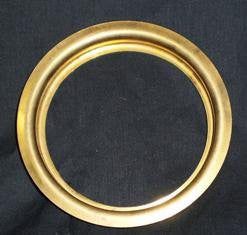 3 3/4 Inch Brass Fitter Ring - Lamp Supplies