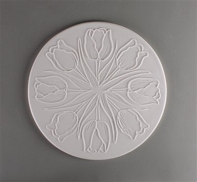 Tulip Texture for Tile Mold for Glass Slumping 11 Inch Diameter $35 Retail
