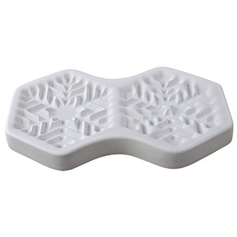 "4-1/4"" Snowflake Casting Mold by Colour de Verre"