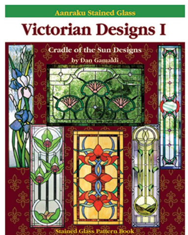 Aanraku Stained Glass Pattern Book Victorian Designs 1
